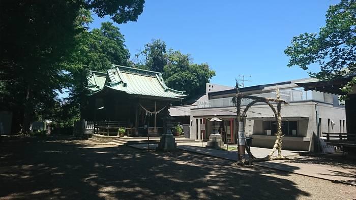 篠原八幡神社の茅の輪