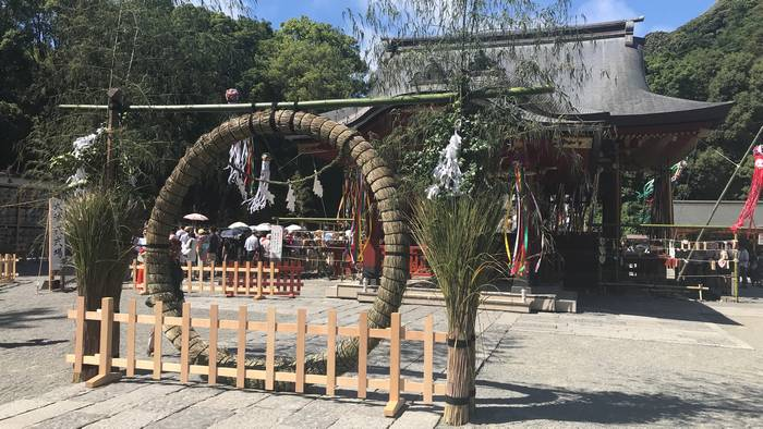 鶴岡八幡宮の茅の輪