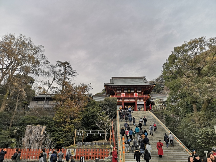 本宮と大石段