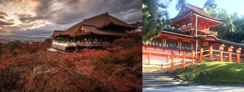 清水寺と春日大社